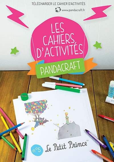"""Berühmt Les cahiers d'activités Pandacraft – """"Le Petit Prince  RX31"""