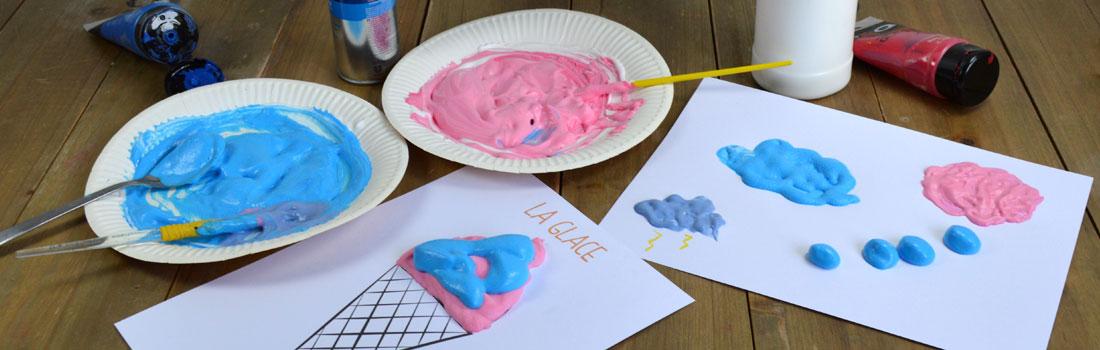 Bien connu La peinture 3D / Pandacraft - Activités manuelles enfants 3 à 7 ans VJ83