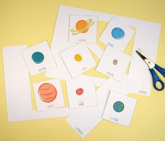 Exceptionnel Les planètes du système solaire / Pandacraft - Activités manuelles  FR78
